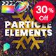 Christmas Particle Elements for Final Cut Pro