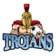 Trojan Spartan Soccer Football Sports Mascot - GraphicRiver Item for Sale