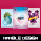 3 in 1 Minimal Flyer/Poster Bundle - GraphicRiver Item for Sale