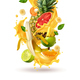 Tropical Cocktail Burst Composition - GraphicRiver Item for Sale