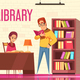 People Reading Books Background - GraphicRiver Item for Sale