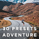 Free Download 30 HQ Adventure Presets Lightroom Nulled