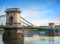 Chain bridge on Danube - PhotoDune Item for Sale