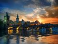 Charles bridge and clouds - PhotoDune Item for Sale