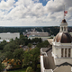Flags Blow Atop The Capital Dome in Tallahassee Florida - PhotoDune Item for Sale
