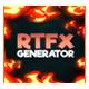 RTFX Generator + 510 Flash FX pack - VideoHive Item for Sale