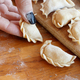 Raw meat pelmeni, ravioli, dumplings - PhotoDune Item for Sale