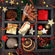 Christmas composition in a wooden box - PhotoDune Item for Sale
