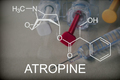 Chemical composition of atropine, conceptual image - PhotoDune Item for Sale
