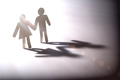 Couple go into the light, conceptual image - PhotoDune Item for Sale