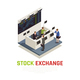 Investing Funds Stocks Isometric Composition - GraphicRiver Item for Sale