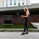 Woman runner start music on smartphone before running - PhotoDune Item for Sale