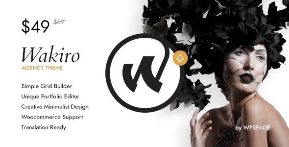 Wakiro - Responsive Agency Theme