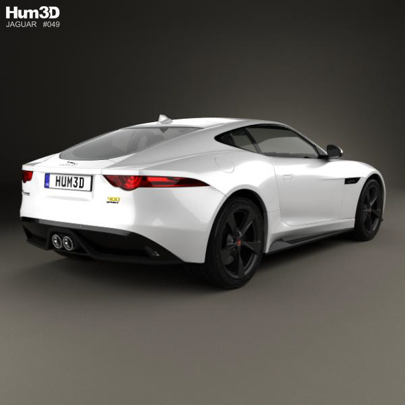 Jaguar F Type 400 Sport Coupe 2017 By Humster3d