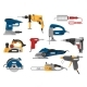 Free Download Power Tools Vector Electric Construction Equipment Nulled