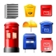 Free Download Mail Box Vector Post Mailbox or Postal Mailing Nulled