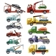 Free Download Tow Truck Vector Towing Car Trucking Vehicle Nulled