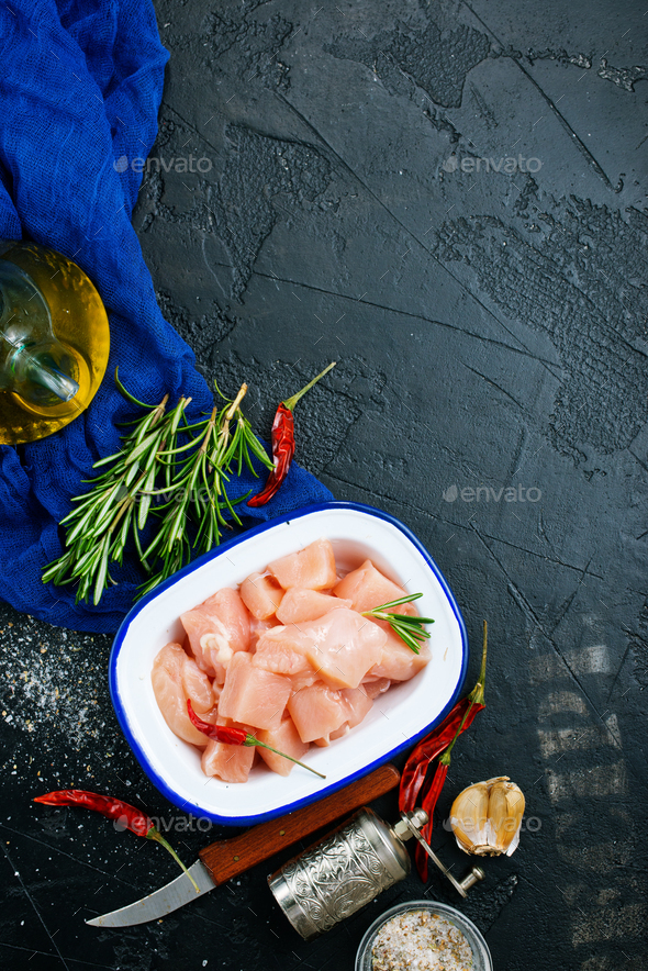 chicken fillet - Stock Photo - Images