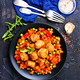 Free Download vegetables with meatballs Nulled