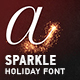 Sparkle — Holiday Font - VideoHive Item for Sale