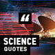 Science Quotes - VideoHive Item for Sale