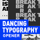 Dancing Typography - VideoHive Item for Sale