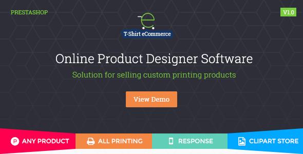 PrestaShop Custom Product Designer - CodeCanyon Item for Sale