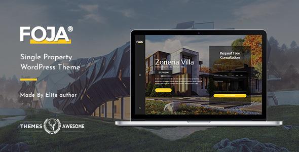 Foja | Single Property WordPress Theme - Real Estate WordPress