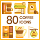 Coffee Shop Icons - GraphicRiver Item for Sale