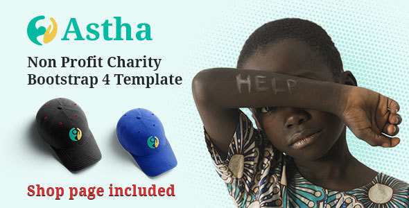 html charity website templates from themeforest