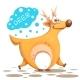 Deer Illustration - GraphicRiver Item for Sale
