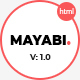 Free Download Mayabi - Multipurpose Portfolio/Business HTML5 Template Nulled