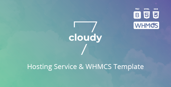 Cloudy 7 - Hosting Service & WHMCS Template - Hosting Technology