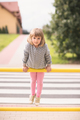 Girl exercising on a metal barrier - PhotoDune Item for Sale