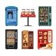Set Vending Machines Full of Products - GraphicRiver Item for Sale