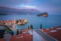 Evening panorama of  Budva in Montenegro - PhotoDune Item for Sale