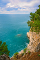 Beautiful high cliffs in Petrovac bay - PhotoDune Item for Sale