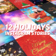 Free Download Holidays Instagram Stories Pack Nulled