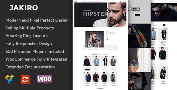 Jakiro - Fashion Shop WordPress Theme - WooCommerce eCommerce