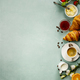 Free Download Continental breakfast captured from above Nulled