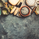 Free Download Glasses of white sparkling wine with cheese, grapes, nuts , oliv Nulled
