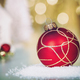 Free Download Christmas decorations background - top view, flat lay Nulled
