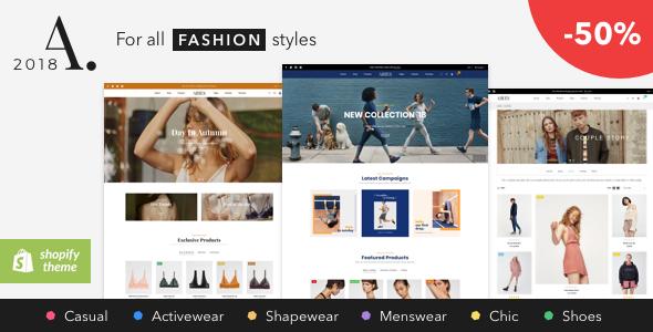 ARIES - Everything for a Shopify Fashion theme - Fashion Shopify