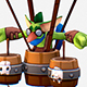 Handpaint Cartoon Goblin Bombardier MMO Character - 3DOcean Item for Sale