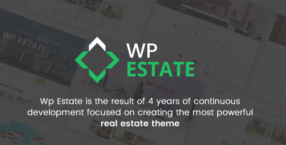 Real Estate - WP Estate Theme - Real Estate WordPress