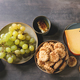Cheese and grapes appetizer - PhotoDune Item for Sale
