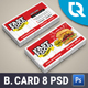 Fast Food Business Card - GraphicRiver Item for Sale
