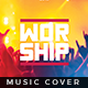 Worship - Music Album Cover Artwork - GraphicRiver Item for Sale