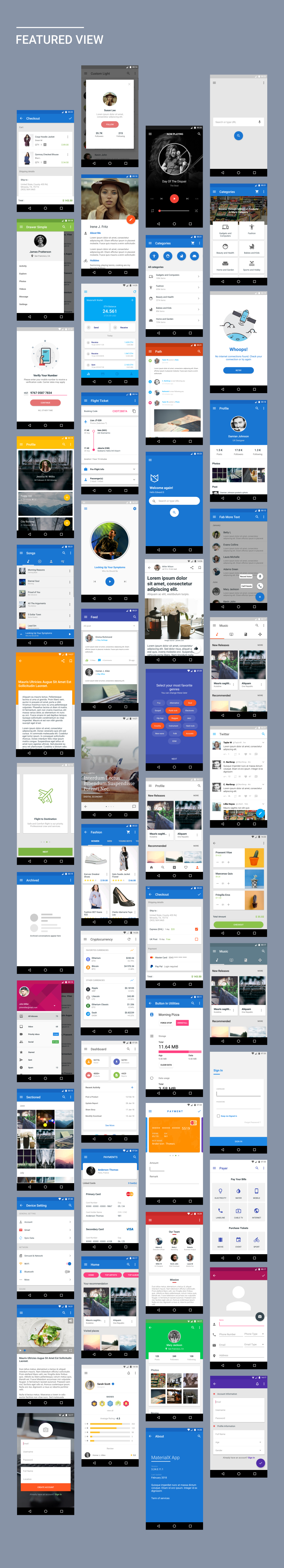 MaterialX - Android Material Design UI Components 2.2