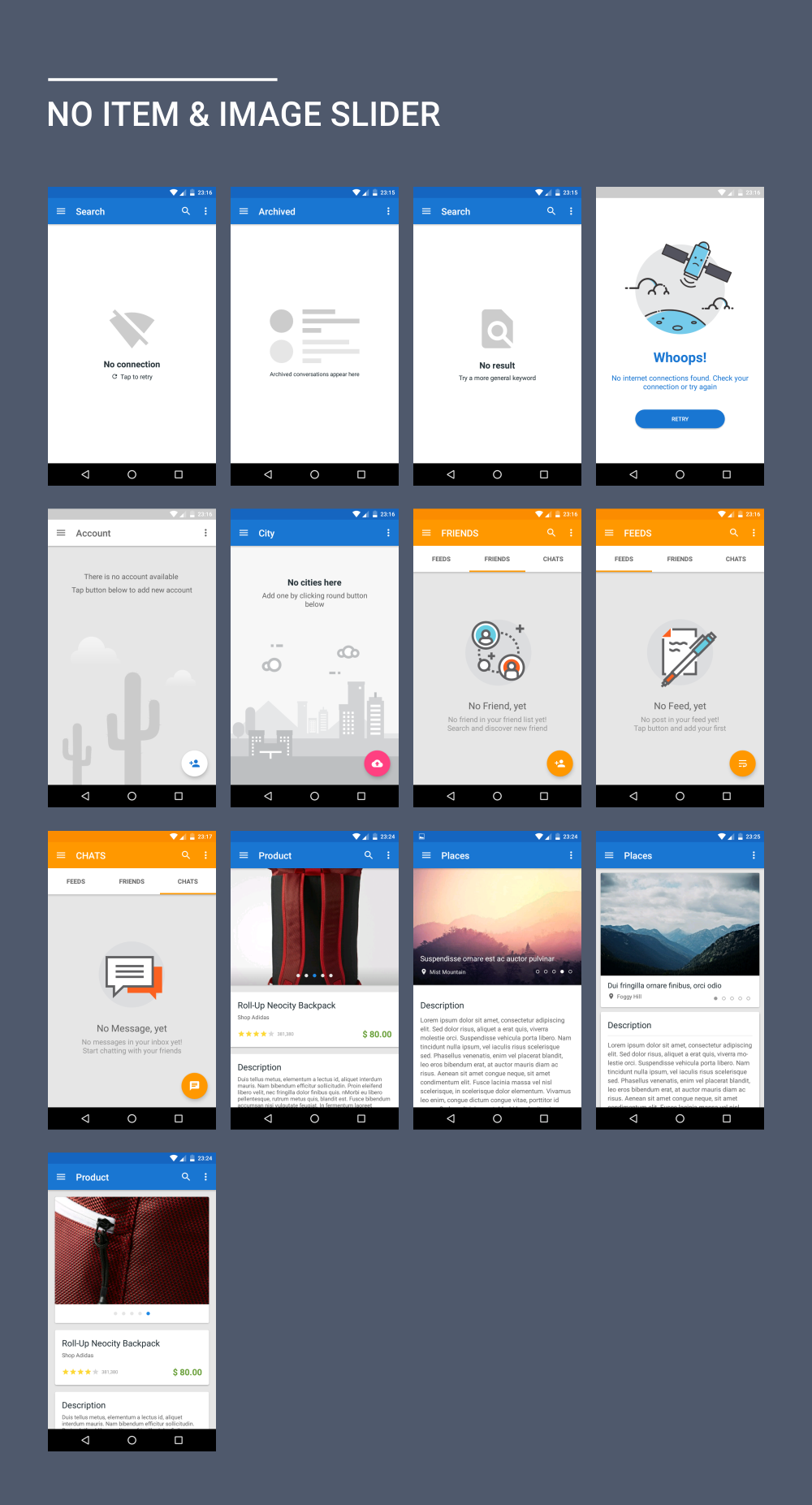 materialx android material design ui components 2 2 by dream space